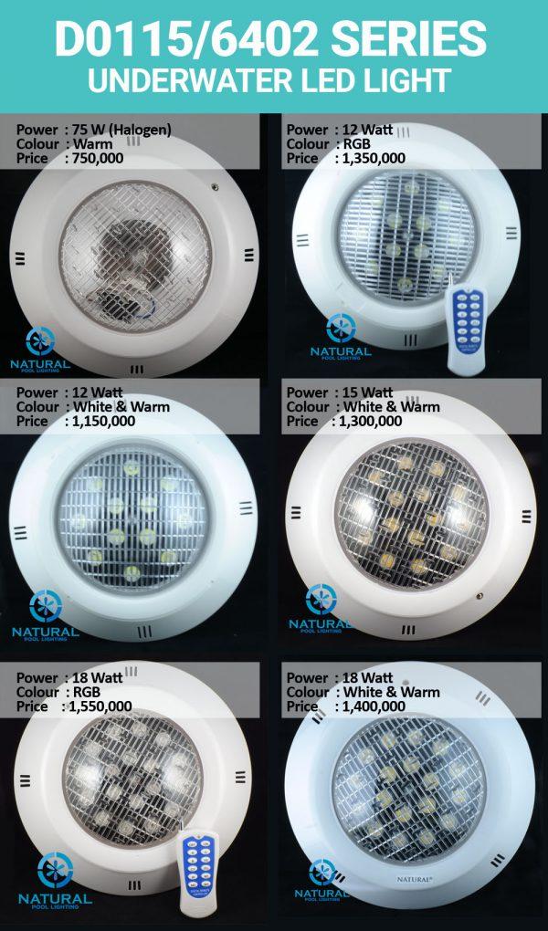 Lampu Kolam Renang D0115